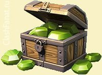 clash of clans кристаллы