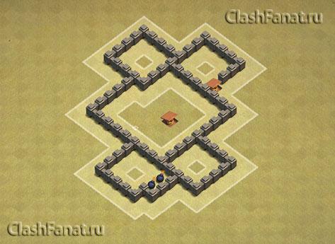 Базы для 4 тх clash of clans