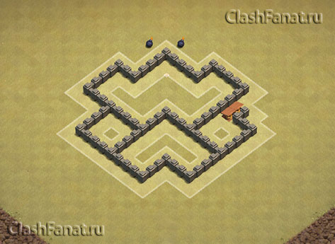 Базы для 4 тх clash of clans