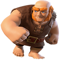 гигант clash of clans