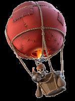 Воздушный шар clash of clans
