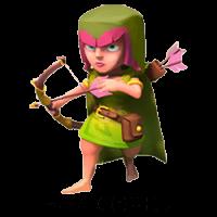 Лучница clash of clans пятого уровня