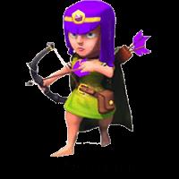 Лучница clash of clans седьмого уровня