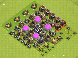 дисбалансер clash of clans ТХ 9