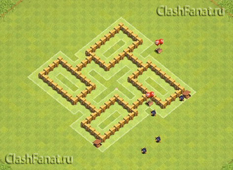 Базы для 5 тх clash of clans