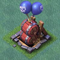 Расстановка ДС 4 воздушные бомбы