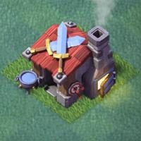 Казарма строителя 4 уровня clash of clans