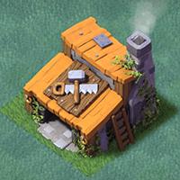 Дом строителя 3 уровня clash of clans
