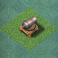 Пушка 3 уровня clash of clans