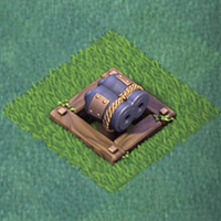 Двойная пушка 3 уровня clash of clans