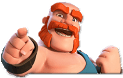 Гигант игры клана clash of clans