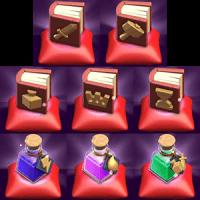 Волшебные предметы clash oa clans